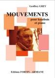 """""""Mouvements"""" pour piano et hautbois de Geoffrey Grey"""